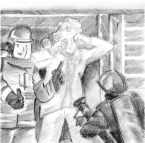 """Someone got maced in the face and Fire is responding."" Josh Kramer, The Cartoon Picayune"