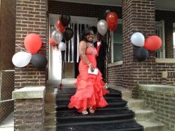 Marissa before prom.