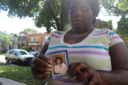 Nortasha Stingley and family in the weeks following her daughter's death.