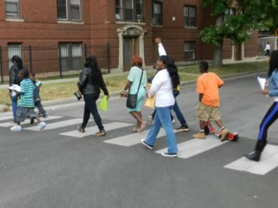 Nortasha's march for Marissa July 2013.