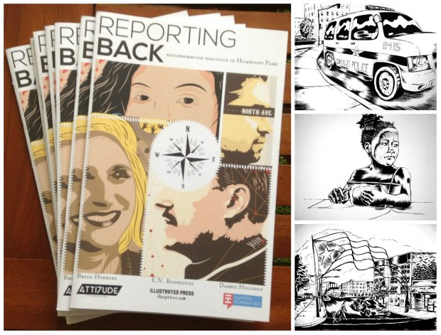 reporting back image collage final