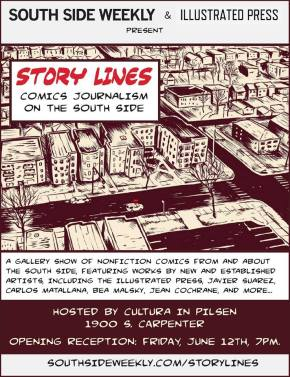 Story Lines: Comics Journalism on the South Side